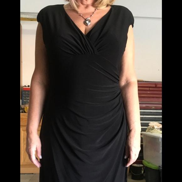 authentic latest discount huge inventory Ralph Lauren Dresses   Black Wrap Dress   Poshmark